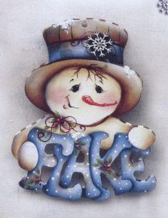 *SNOWMAN ~ Viking Woodcrafts: Christmastime Between the Vines 06 by Jamie Mills-Price