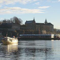 vinter i oslo | norge | akershus festning
