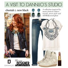 """A Visit to Dannijo's Studio"" by cheetahisnb ❤ liked on Polyvore"