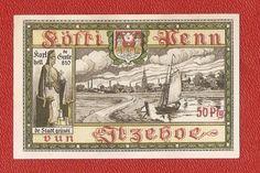 Germany Notgeld 50 pfennig 1918 Schleswig Holstein  Itzehoe #42
