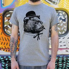 Mens Fancy Bear T-Shirt