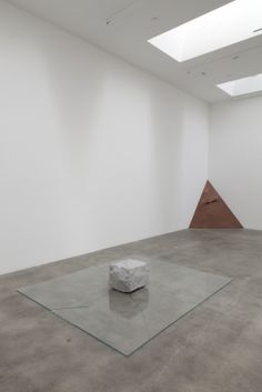 "Japanese post-war minimalist sculpture.  Mono-ha (school of things). Representing an important art historical turning point, ""Requiem for the Sun"" refers to the attitude of aesthetic detachment and renewal of matter in response to the immanent loss of the object as a sun in Japanese postwar art practice."