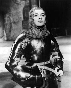 Jean Seberg em Joana Darc - lamentavelmente seu suicidio foi uma enorme perda para o cinema Frances