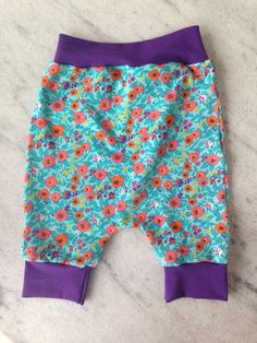 Home made baby pants