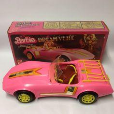 Vintage-1980-mattel-barbie-doll-voiture-3299-dreamvette-boite