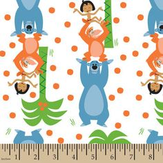Disney Jungle Book Cotton Fabric