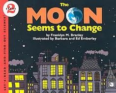 Children can read about the phenomena of the moon's phases and with an experiment using an orange, a pencil, and a flashlight, they can see why the moon looks different at different times of the month.