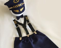 Sailor ...Baby boy 1st Birthday Outfit...1st by BuBBlingBoutique