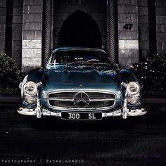 Best of Mercedes Benz Museum's Instagram. Mercedes Benz #300SL, picture credit: @badr_alhumaid
