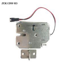 NIEUWE Safurance Elektronische Lock Catch Deur Poort 12 V/0.43A Elektrische Release Vergadering Solenoid Toegangscontrole Access Control, Power Strip