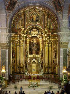 Retablo Iglesia después de restaurado