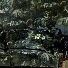 <p>Bring the foliage of the ancient Silk Route to your interior with the 'Limerence' print in Ink. Limerence takes us via the Indian Ocean to the ...