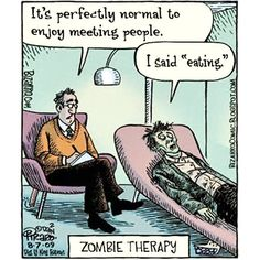Zombie Therapy Time ?  http://timer.onlineclock.net/timers/30minutes/  #Zombie #Zombies #Therapy #Therapist #WalkingDead #Horror #ZombieApocalypse #TheWalkingDead #WalkingDeadFan #HorrorMovies #Psychiatrist #Psychologist #Food #Foodie #Foody #Recipe #Recipes #Eating #Dining #HealthyEating