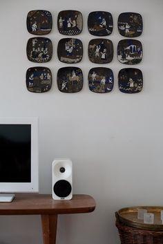 Kalevala -vuosilautaset Floating Shelves, Retro Vintage, Inspiration, Home Decor, Biblical Inspiration, Decoration Home, Room Decor, Wall Shelves, Home Interior Design