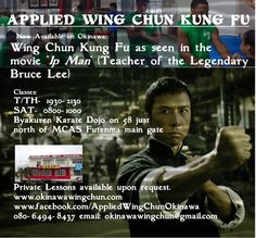 Applied Wing Chun Okinawa (wingchunokinawa) on Pinterest