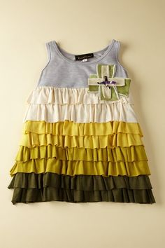 I would love to sew a dress like this, grab a tank top and some knits!