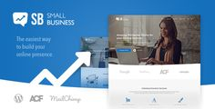 Small Business CD - A modern Blog & Website WordPress Theme for Start Up ideas Template Download