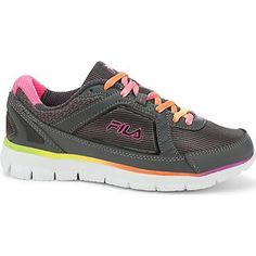 Women's Fila Finest Hour Neoprene Dark Shadow//Knockout Pink (US Women's M (Regular))