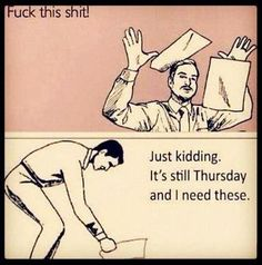 Thursday.