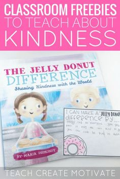 Teach your students about kindness with this wonderful book and these freebies! Elementary Counseling, School Counselor, Elementary Schools, Career Counseling, Upper Elementary, Classroom Freebies, Classroom Behavior, Classroom Management, Classroom Ideas