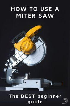 A detailed beginner's guide for how to use a miter saw. Get all the basics, tips and tricks – everything you need to know in one place.