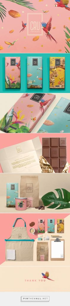 CRU Chocolate Branding and Packaging by Nicolas Rudy | Fivestar Branding – Design and Branding Agency & Inspiration Gallery