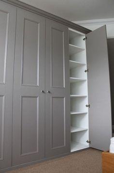 Best small closet ideas bedroom floating shelves Ideas #bedroom #closet Closet Bedroom, Bedroom Storage, Home Bedroom, Door Storage, Kids Bedroom, Bedroom Ideas, Master Closet, Towel Storage, Trendy Bedroom