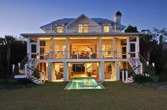 1920's Beachfront Renovation :: Herlong & Associates :: Coastal Architects, Charleston, South Carolina