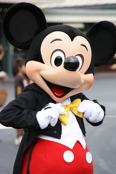 Mickey Mouse, it all started with him