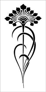art nouveau stencils - Google Search