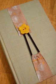 Percolating Projects: Ribbon Bookmark DIY