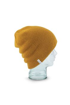c7dab88df99 Coal Frena Solid Beanie in Mustard