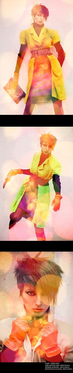 Electro Shock by Diana Ionescu, via Behance