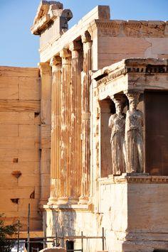 Erechtheum, Acropolis, Athens Greece