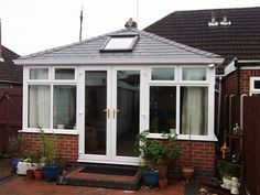 Transform your conservatory with a Tiled Roof Replacement from Abbey & Burton Glass. Warm Roof, Roofing Systems, Conservatory, Windows, Gallery, Glass, Roof Rack, Drinkware, Winter Garden