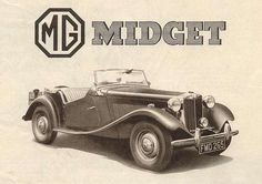 History of the MG TD - The MG T-types Mg Cars, Jaguar E Type, Classic Cars Online, Aston Martin, Antique Cars, British, History, Vintage Cars, Historia