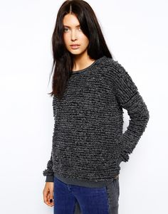 Image 1 of Just Female Fluffy Sweater