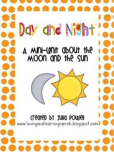 I created this collection of activities to use during our Sun/Moon unit. This is a great pack geared toward Pre-K and K, but can certainly be adapt...