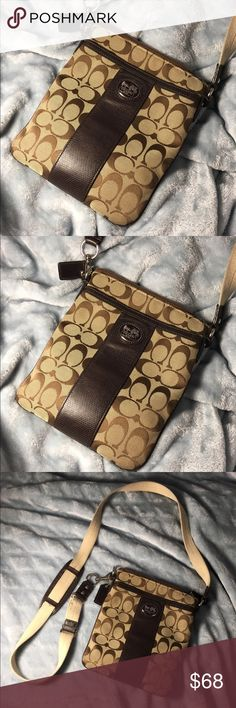 CLEARANCE‼️COACH ❤️ Classic Crossbody ‼️ MUST GO‼️ COACH   Gorgeous Crossbody. Bought it in 2014. It's in good condition. Gently used. ‼️PRICE IS FIRM ‼️ Coach Bags Crossbody Bags