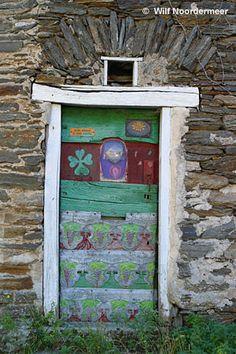 funky door in southern France by Wilf Noordermeer, London, ON, Canada