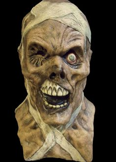 scary halloween masks | Halloween Mask, Scary Egyptian Zombie Boris Karloff Latex Halloween ...