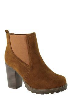 Elvy Chelsea Bootie by ANNA Footwear on @nordstrom_rack