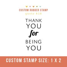 Rubber stamp design for photography client packaging & tags!