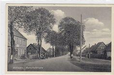 Glöwen Prignitz Bahnhofstraße 1940