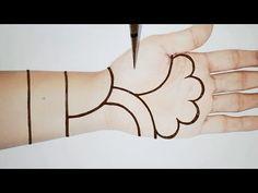 Simple Arabic Mehndi Designs, Basic Mehndi Designs, Stylish Mehndi Designs, Henna Art Designs, Mehndi Designs For Beginners, Mehndi Simple, Wedding Mehndi Designs, Beautiful Henna Designs, Mehndi Designs For Fingers