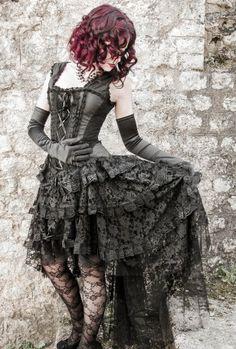 Robe Gothique Burleska Ophelie
