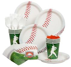 Celebrate with the Baseball Party Standard Kit for your Baseball party.