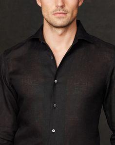 Linen Sport Shirt - Standard-Fit  Casual Shirts - RalphLauren.com