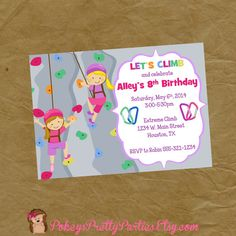 """This listing is for a PRINTABLE JPG FILE of the 5"""" X 7"""" invitation!  YES the size and wording can be changes. Mathcing Thank You/ Favor Tags"""