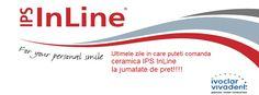 Promotie ceramica InLine, Invoclar Vivadent Inline, Tech Companies, Company Logo, Personal Care, Logos, Self Care, Personal Hygiene, Logo